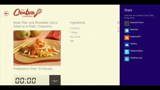 Windows Store apps with HTML + Facebook
