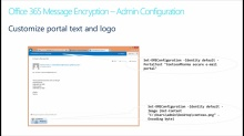 Encryption in Office 365: (03) Office 365 Message Encryption