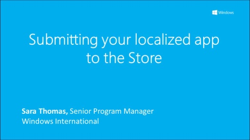 Submitting your localized app to the Store