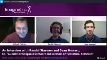 Imagine Cup: BACKSTAGE - An Interview with Randal Staewen and Sean Howard, Co-Founders of Solipsoid Software