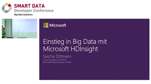 Einstieg in Big Data mit Microsoft HDInsight