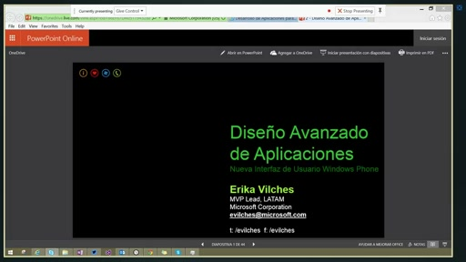 LATAM Track Day2 - Diseño avanzado de aplicaciones para Windows Phone