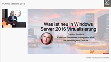 Was ist neu in Windows Server 2016 Virtualisierung