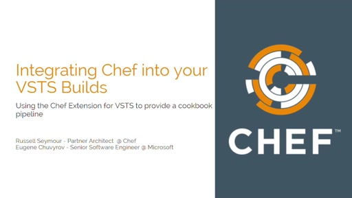 Integrating Chef Into Your Visual Studio Team Services Builds
