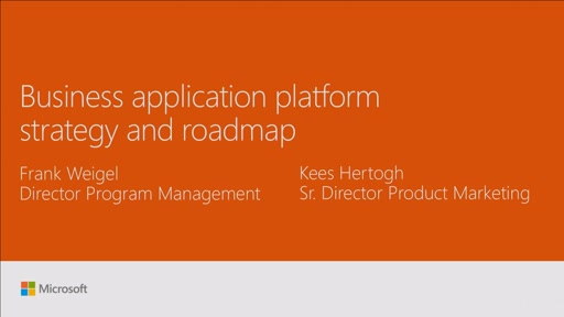 Review business application platform roadmap, strategy and packaging