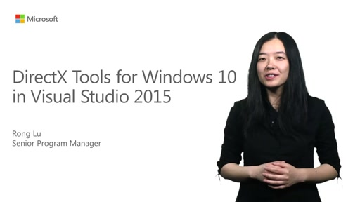 DirectX Tools for Windows 10 in Visual Studio 2015