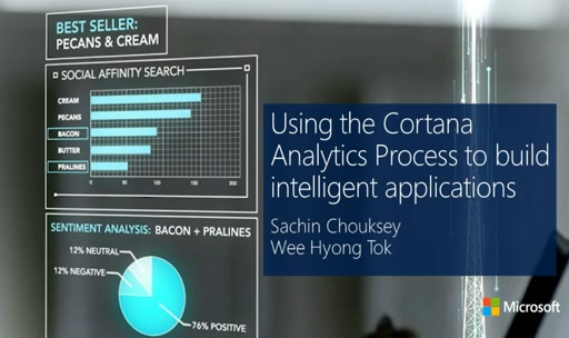 Using the Cortana Analytics Process to Build Intelligent Applications