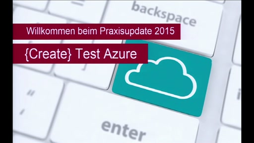 {Create} Test Azure  - Teil 1