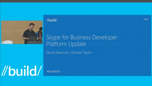 Skype for Business Developer Platform Update