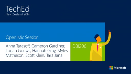 Open Mic: Mission Critical Panel for SQL Server and Azure