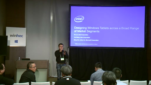 Designing Windows Tablets across a Broad Range of Market Segments (Presented by Intel®)