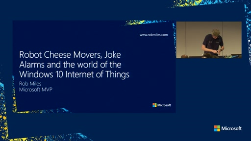 Robot Cheese Movers, Joke Alarms and the world of the Windows 10 Internet of Things
