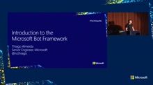 Introduction to the Microsoft Bot Framework
