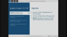 Session 4.1 – Managing a Multi-tenant Service Provider Cloud with System Center 2012 R2