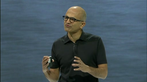 Satya Nadella's Keynote from Ignite 2015