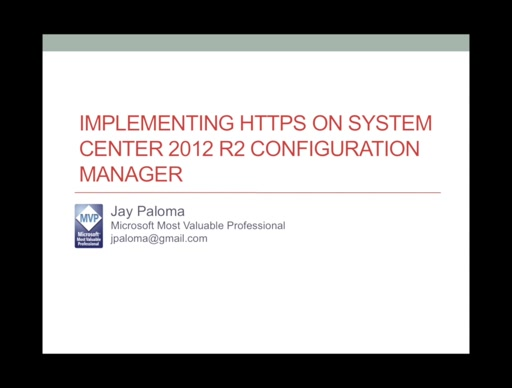 Implementing HTTPS on Configuration Manager 2012 R2 - Part 4 Configuring the ConfigMgr Services