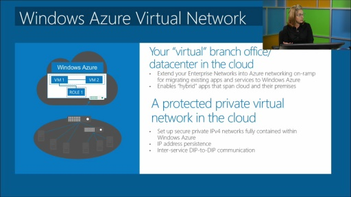 Windows Azure IT Pro IaaS: (04) Virtual Basic Networks