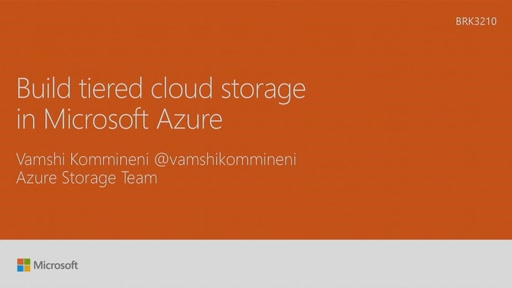 Build tiered cloud storage in Microsoft Azure