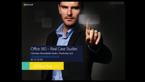 Office 2013 Real Case Studies