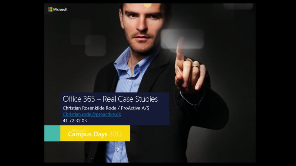 microsoft case studies office 365 Resellers who think there's no money to be made under microsoft's cloud   when you have customers lining up to get their hands on office 365, you want to  be.