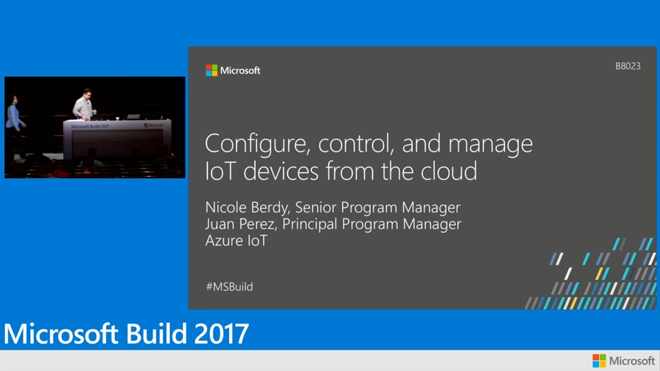 Configure, control, and manage IoT devices from the cloud