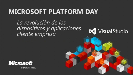 Microsoft Platform Day: The Devices Revolution and LOB client apps