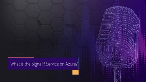What is the SignalR Service on Azure?