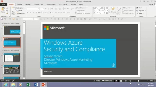 Windows Azure Security Overview