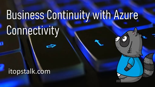Business Continuity with Azure - Connectivity