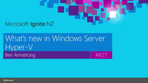 What's New in Windows Server Hyper-V