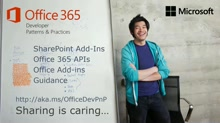 PnP Web Cast - Introduction to Office 365 Dev PnP provisioning engine