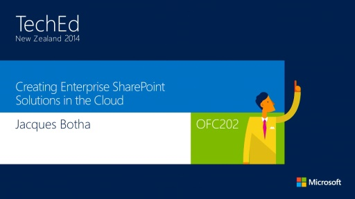 Creating Enterprise SharePoint Solutions in the Cloud