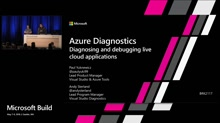 Diagnosing and debugging live cloud applications