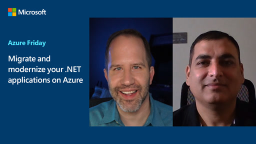 Migrate and modernize your .NET applications on Azure