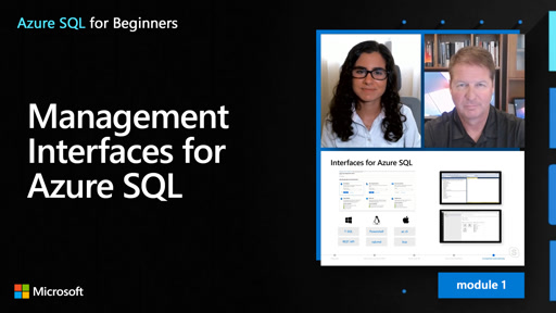 Management Interfaces for Azure SQL (10 of 61)