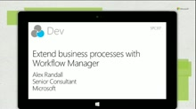 Extend business processes with Workflow Manager