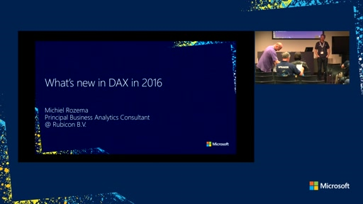 What's new in DAX in 2016