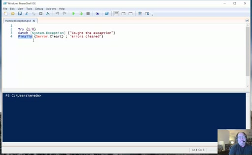 PowerShell 5 - Intro to Error Handling