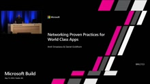 Networking Proven Practices for World Class Apps