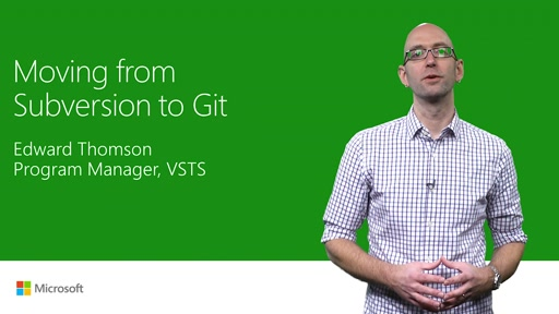 Moving from Subversion to Git