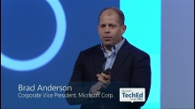 TechEd Europe Keynote with Brad Anderson and Jason Zander