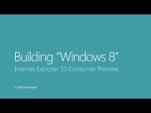 Internet Explorer 10 Consumer Preview