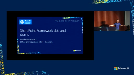 SharePoint Framework do's and don'ts