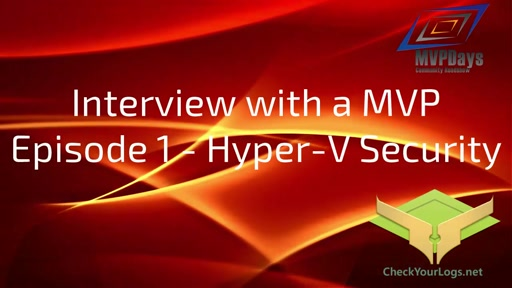 Episode1-Hyper-V Security