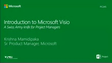 Introduction to Microsoft Visio: A Swiss Army knife for Project Managers