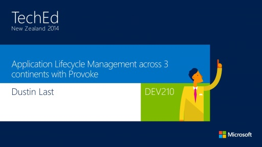 Application Lifecycle Management across 3 continents with Provoke