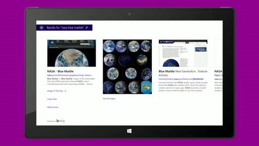 Bing Maps Preview app for Windows 8.1