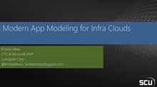 Modern Application modeling and configuration for infrastructure clouds