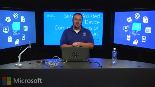 Service Assisted Device Communications on Microsoft Azure