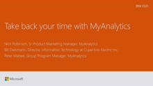 Take back your time with Microsoft Office Delve Analytics